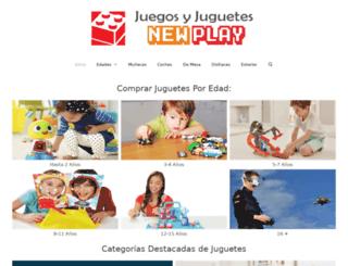 newplay.es screenshot