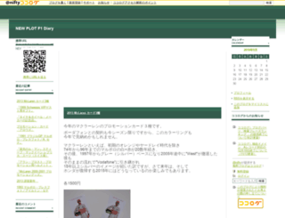 newplot-f1.cocolog-nifty.com screenshot