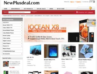 newplusdeal.com screenshot