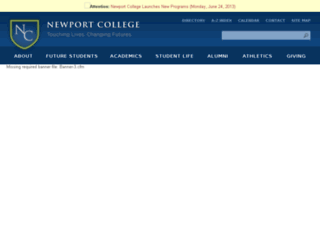 newport.innersync.com screenshot