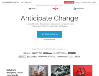 newport.thomson-pharma.com screenshot
