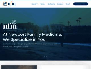 newportfamilymedicine.com screenshot