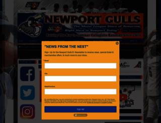 newportgulls.pointstreaksites.com screenshot