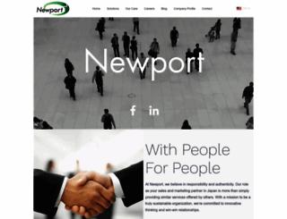 newportjapan.com screenshot