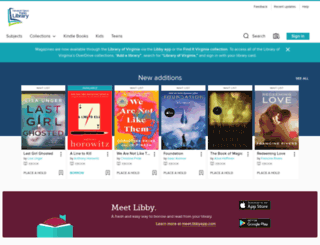 newportnewsva.libraryreserve.com screenshot