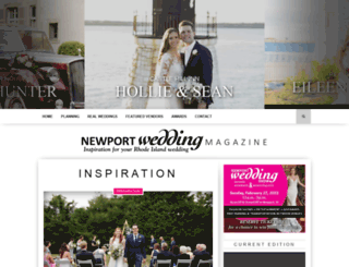 newportweddingmagazine.com screenshot