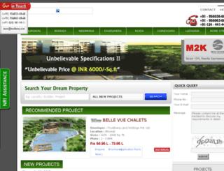 newprojects.in screenshot