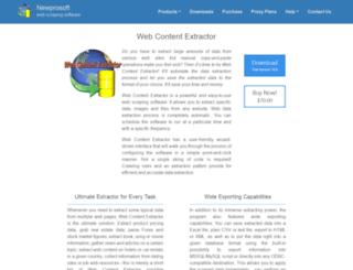 newprosoft.com screenshot