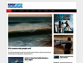 newquaysurfer.org screenshot