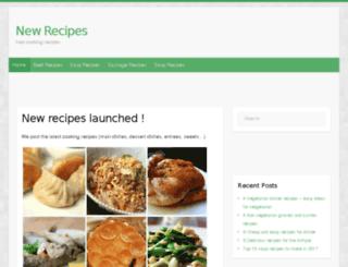 newrecipes.info screenshot