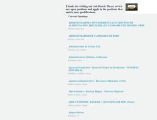 newrest.theresumator.com screenshot