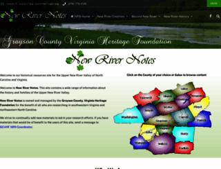 newrivernotes.com screenshot