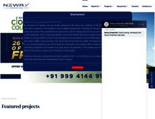 newry.co.in screenshot