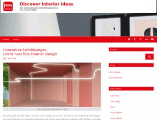 news-imm.koelnmesse.info screenshot