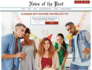 news-of-the-past.com screenshot