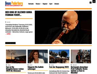 news-paderborn.de screenshot