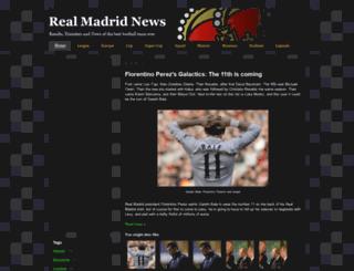 news-realmadrid-football.blogspot.com screenshot