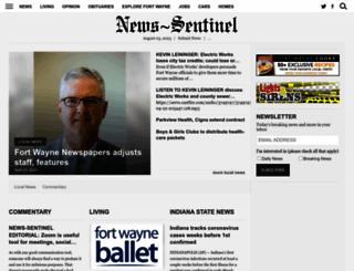 news-sentinel.com screenshot