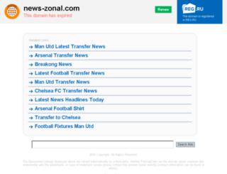 news-zonal.com screenshot