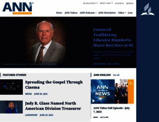 news.adventist.org screenshot