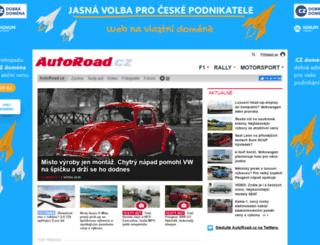 news.autoroad.cz screenshot