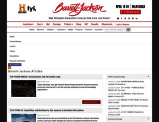 news.barrett-jackson.com screenshot