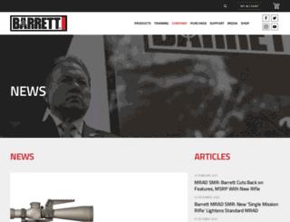 news.barrett.net screenshot