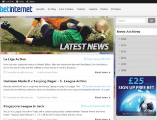 news.betinternet.com screenshot