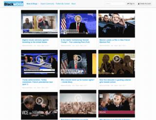 news.blackworld.com screenshot