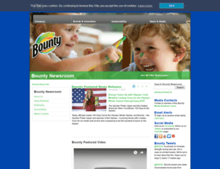 news.bountytowels.com screenshot