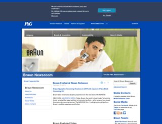 news.braun.com screenshot