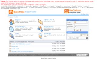 news.busytrade.com screenshot