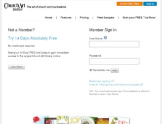 news.churchartpro.com screenshot