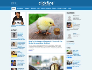 news.clickfire.com screenshot