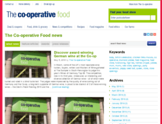 news.co-operativefood.co.uk screenshot