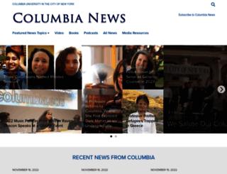 news.columbia.edu screenshot