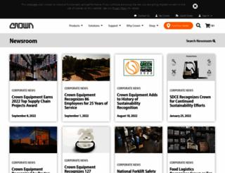 news.crown.com screenshot