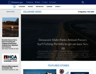 news.delaware.gov screenshot
