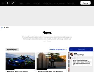 news.drive.com.au screenshot