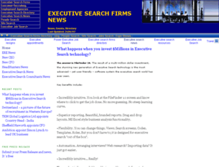 news.executive-search-firms.com screenshot