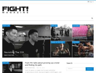 news.fightmagazine.com screenshot