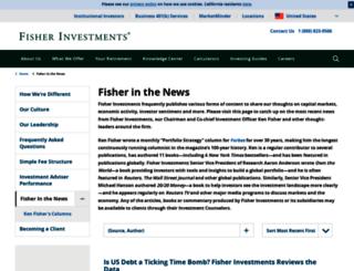 news.fisherinvestments.com screenshot