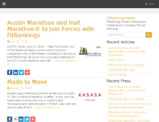 news.fitrankings.com screenshot