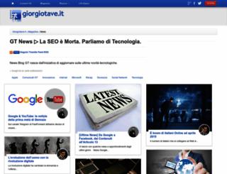 news.giorgiotave.it screenshot