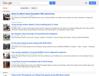 news.google.co.ke screenshot