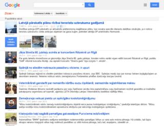 news.google.lv screenshot
