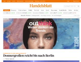 news.handelsblatt-service.com screenshot