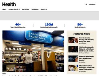 news.health.com screenshot