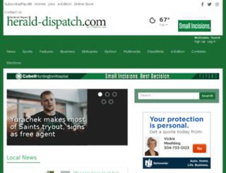 news.herald-dispatch.com screenshot