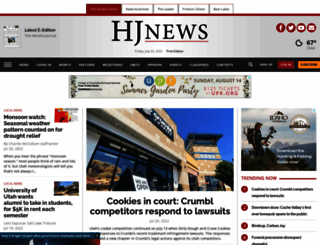 news.hjnews.com screenshot